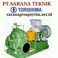 PT SARANA PUMP Pompa Sentrifugal Zeh Merk Torishima