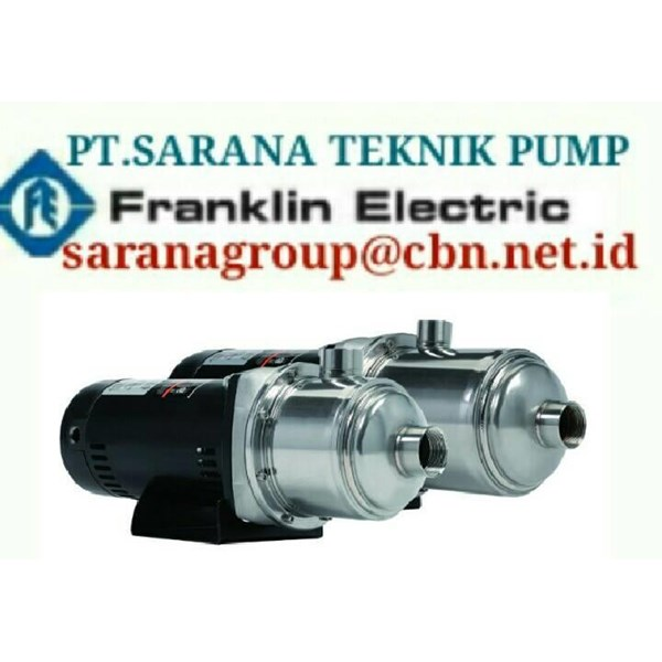 PT SARANA PUMP Pompa Submersible Motor Merk Franklin Electric