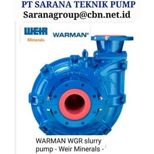 PT SARANA TEKNIK PUMP WARMAN WEIR  SLURRY PUMP FOR MINING