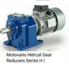 Helical Gear Reducer Motovario H Series 1