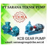 KCB Gear Pump Yuaema PT Sarana Teknik