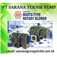 FU-TSU ROOTS TYPE ROTARY BLOWER PT SARANA TEKNIK