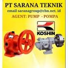 Gear Pump KOSHIN  TYPE GB GL GC PT SARANA TEKNIK PUMP 1