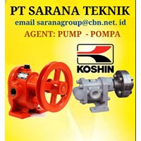 Gear Pump KOSHIN  TYPE GB GL GC PT SARANA TEKNIK PUMP