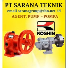 Gear Pump KOSHIN  TYPE GB GL GC PT SARANA TEKNIK P