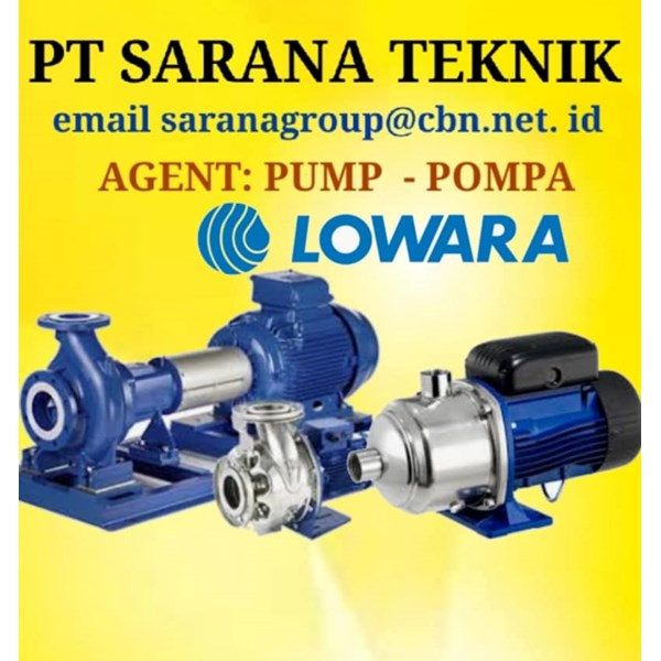 SUBMERSIBLE Gear Pump LOWARA PUMP PT SARANA TEKNIK POMPA
