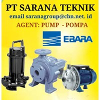 PT SARANA TEKNIK PUMP EBARA GEAR Screw Pump