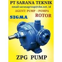 INTERSIGMA Gear Pump SIGMA ROTOR ZPG8 PT SARANA  ZPG 6
