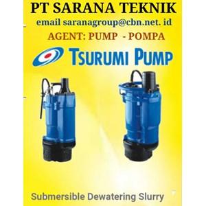 TSURUMI PUMP SUBMERSIBLE DEWATERING SLURRY POMPA