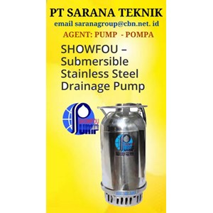 SHOWFOU SUBMERSIBLE STAINLESS STEEL DRAINAGE PUMP POMPA