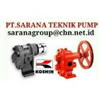 KOSHIN GEAR PUMP TYPE GB PT SARANA TEKNIK PUMP 1