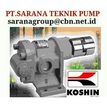 KOSHIN GEAR PUMP SERI GB PT SARANA PUMP