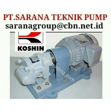 KOSHIN GEAR PUMP SERI GC PT SARANA PUMP