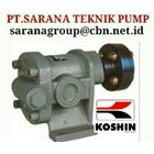 KOSHIN GEAR PUMP AGEN FOR INDONESIA PT SARANA PUMP 1