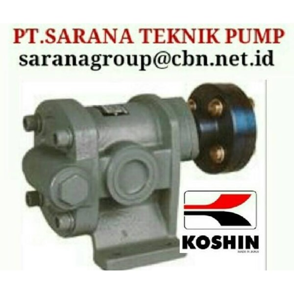 KOSHIN GEAR PUMP AGEN FOR INDONESIA PT SARANA PUMP