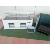 Beli AC Split Duct YORK High Static 4