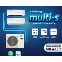 AC DAIKIN MULTI S 1 Outdoor 2 Indoor