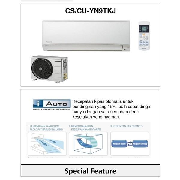 AC SPLIT 1 PK PANASONIC CS-YN9TKJ
