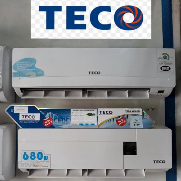 AC Split Wall TECO Low Watt