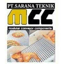 MCC REXNORD MODULAR COMPONENT MATTOP CHAIN PT.SARANA TABLETOP CHAIN