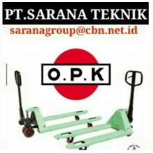 OPK HAND PALLET PT SARANA TEKNIK OPK HAND PALLET STACKER MANUAL