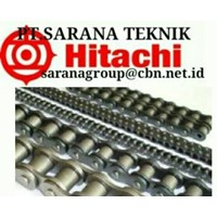 HITACHI ROLLER CHAIN PT SARANA TEKNIK HITACHI CHAIN ANSI BS and hitachi roller chain with attacment