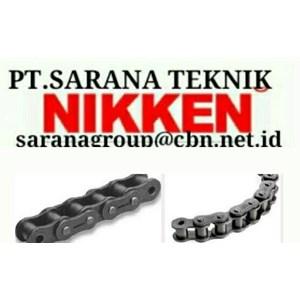 NIKKEN ROLLER CHAIN PT SARANA CHAIN NIKKEN STANDARD ANSI - BS CHAIN leaf chain sillent NIKKEN CHAIN conveyor chain