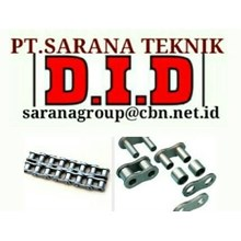DID ROLLER CHAIN PT SARANA TEKNIK ROLLER CHAIN DID MADE IN JAPAN STANDART ANSI ROLLER CHAIN DID