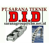 DID ROLLER CHAIN PT SARANA TEKNIK- ROLLER CHAIN DID MADE IN JAPAN ANSI STANDARD
