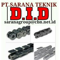 DID ROLLER CHAIN PT SARANA TEKNIK- ROLLER CHAIN DID MADE IN JAPAN ANSI STANDARDS