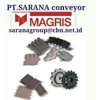 Jual MAGRIS TABLETOP CHAIN PT SARANA CONVEYOR MAGRIS THERMOPLASTIC & STEEL 2
