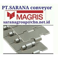 MAGRIS TABLETOP CHAIN PT SARANA CONVEYOR MAGRIS THERMOPLASTIC & STEEL