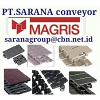 MAGRIS TABLETOP CHAIN PT SARANA CONVEYOR MAGRIS THERMOPLASTIC & STEEL MADE IN ITALY