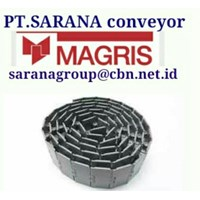 Jual MAGRIS TABLETOP CHAIN PT SARANA CONVEYOR MAGRIS THERMOPLASTIC & STEEL MADE IN ITALY 2