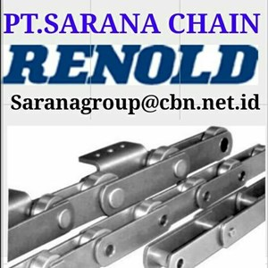 RENOLD CONVEYOR CHAIN  PT SARANA CHAIN RENOLD FOR ROLLER