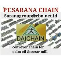 PT SARANA CHAIN STOCK DAICHAIN CONVEYOR CHAIN  DAICHAIN FOR PALM OIL