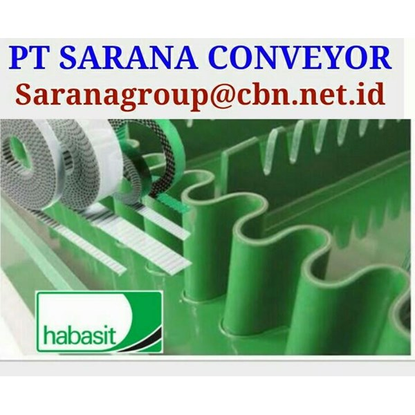 PT SARANA CONVEYOR HABASIT BELT CONVEYOR BELT for food textile