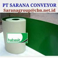 HABASIT CONVEYOR BELT PT SARANA BELT PVC FOR FOOD TEXTILE