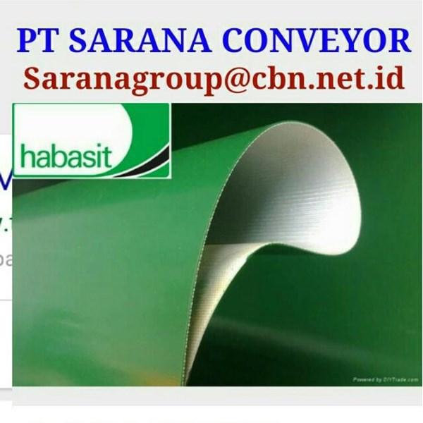 HABASIT CONVEYOR BELT PT SARANA BELT PVC FOR FOOD TEXTILE