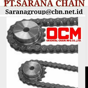OCM  ROLLER CHAIN  PT SARANA CHAIN STANDARD ANSI CHAIN RS 40 RS 60