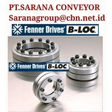 BLOC RIGID SHAFT COUPLING PT SARANA KEYLESS LOCKING FENNER