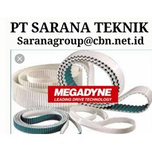 TIMING BELT MEGADYNE TIMING BELT PT SARANA  BELT DAN CONVEYOR PU