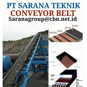 EP RUBER NYLON CONVEYOR BELT FOR MINING PT SARANA TEKNIK CONVEYOR BELT