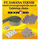 REXNORD TABLETOP CHAIN PT SARANA CHAIN REXNORD MAPTOP CONVEYOR 1