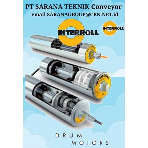 Roller Conveyor INTERROLL DRUM MOTOR PT SARANA TEKNIK