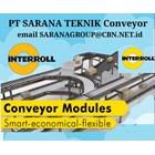 Roller Conveyor  MOTORIZED INTERROLL PT SARANA TEKNIK CONVEYOR 1