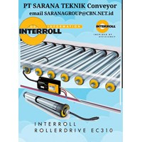 Roller Conveyor  MOTORIZED INTERROLL PT SARANA TEKNIK CONVEYOR