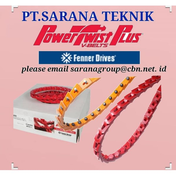PT SARANA TEKNIK POWERTWIST BELT PLUS V-BELT FENNER DRIVES