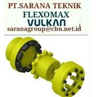 FLEXOMAX FLEXIBLE COUPLING VULKAN TYEPE G PT SARANA TEKNIK SIZE GG 194 GG 214 GG240 GG265 GG295