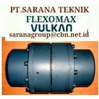 FLEXOMAX FLEXIBLE COUPLING VULKAN TYEPE G PT SARANA TEKNIK SIZE GG 194 GG 214 GG240 GG265 GG295 370